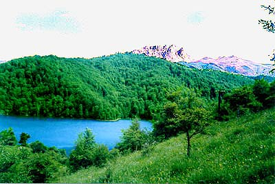 Geoy-Gyol lake and Kapaz mountain