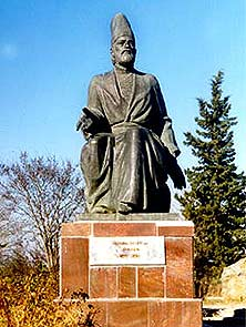 Monument for M.S.Vazeh